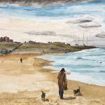 #001 - Walking Tynemouth Sands SOLD
