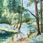 #039 - Bluebell Wood Stream SOLD