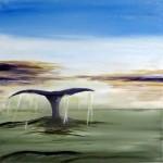Acrylic on canvas 2014 - An imaginary seascape