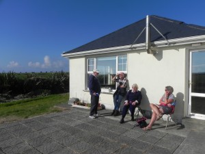 Cyril, Tom, Gabrielle and Kathy at Faha, Ballybunion